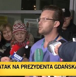 Prezydent Adamowicz po operacji. Lekarz: Stan jest bardzo ciężki. Módlmy się za niego [WIDEO]
