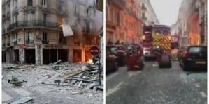 Potężna eksplozja w Paryżu. Wybuchła piekarnia. Jest wielu rannych [WIDEO]