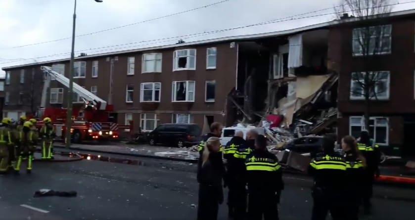 Wybuch gazu w Holandii. Zawaliła się część budynku