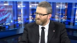 """Grzegorz Braun ostro o roszczeniach żydowskich: """"Polska własność powinna być nienaruszona"""""""