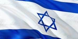 Skandal w Jordanii! Flaga Izraela jako wycieraczka