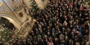 Tysiące kibiców na Jasnej Górze. Razem modlili się za Ojczyznę
