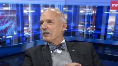 """Korwin-Mikke w Mediach Narodowych: """"Mniej niż 10% to będzie dla nas kompromitacja"""""""