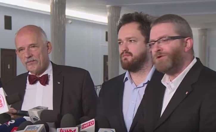 """Korwin-Mikke, Tumanowicz i Braun. """"Jesteśmy eurontuzjastami. pozostajemy miażdżącymi krytykami Eurokołchozu"""""""