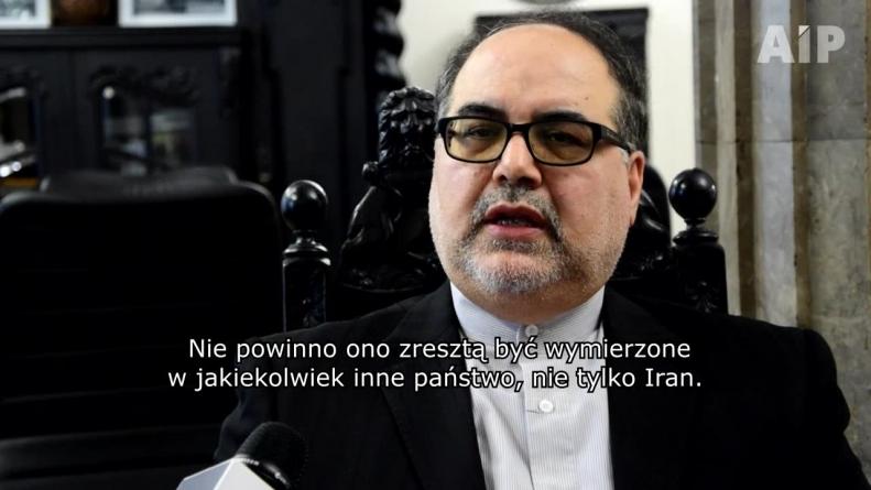 Ambasador Iranu: Zamierzam podjąć wszelkie wysiłki, by rezultat konferencji nie był antyirański
