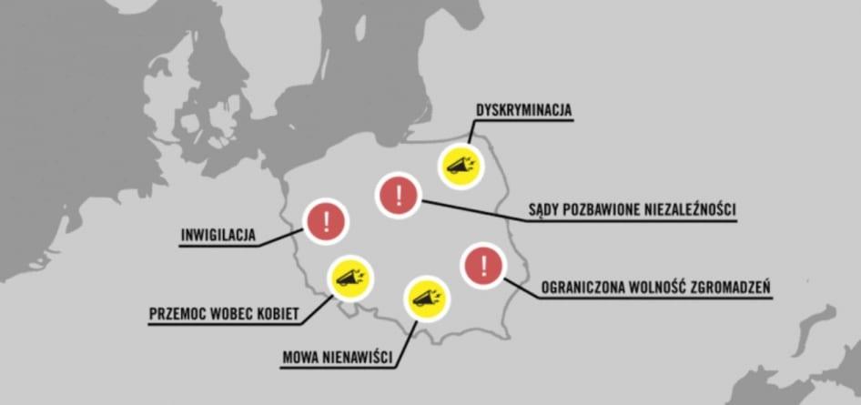 Amnesty International straszy Polską