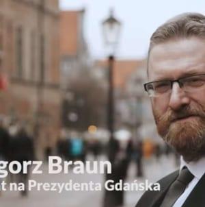 Najnowszy spot Grzegorza Brauna! Jest o Niemcach, Żydach i… Arce Gdynia