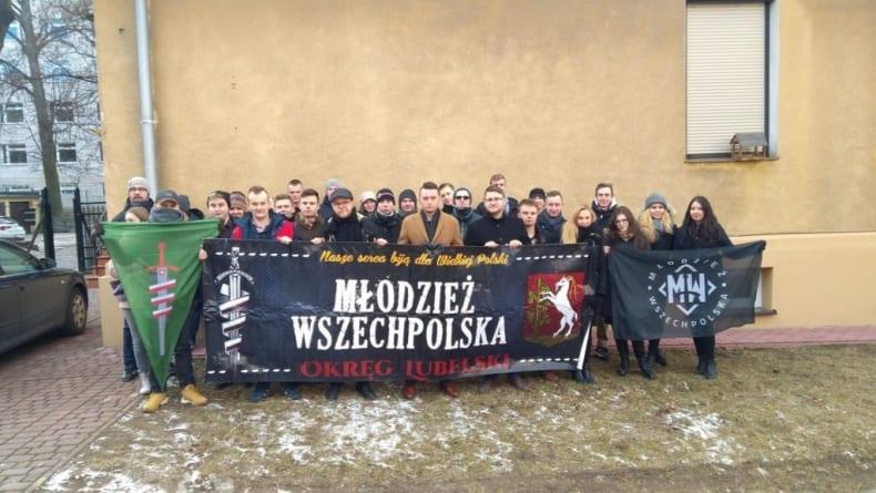 Wszechpolacy na szkole zimowej w Lublinie