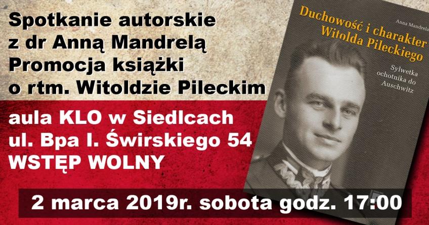 """Premiera książki – ,,Duchowość i charakter Witolda Pileckiego"""""""
