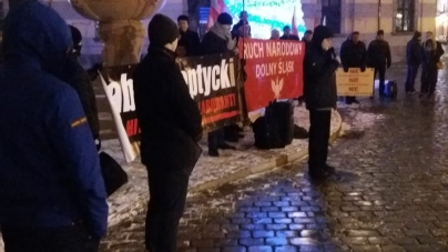 Narodowcy przeciwko tablicy upamiętniającej hitlerowskiego kolaboranta