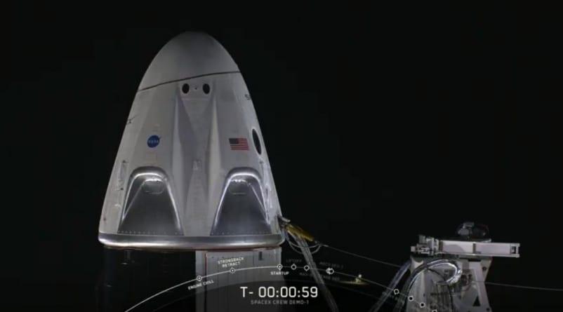 Udany test ratunkowy załogowego statku kosmicznego Dragon