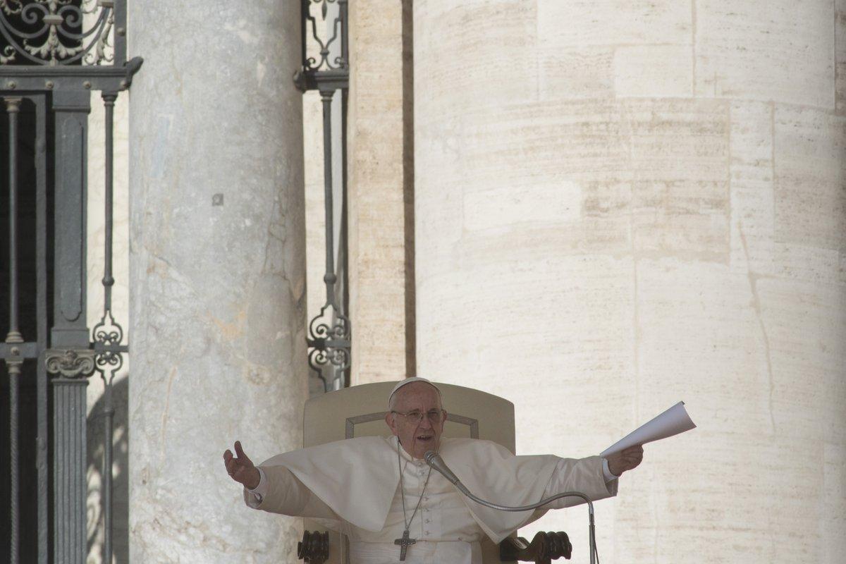 Ojciec Święty Franciszek.