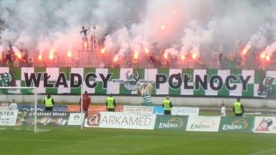 Partia Biedronia żąda oficjalnych przeprosin od Lechii Gdańsk