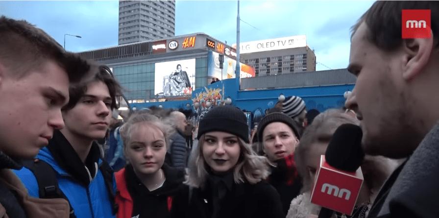 Redaktor Mediów Narodowych sprowadza młodych aborcjonistów na ziemię