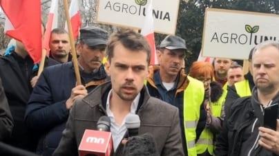 Zaskakująca decyzja lidera AgrouUnii: Kołodziejczak odchodzi z partii Zgoda