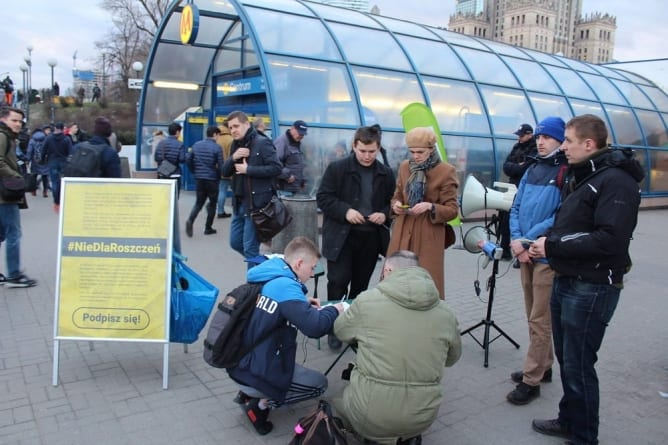 Rzeszów i Lublin dołączają do kampanii #NieDlaRoszczeń [ZGŁOŚ SIĘ]