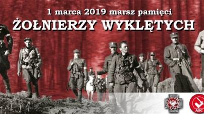 Marsz Żołnierzy Wyklętych – [ZOBACZ GDZIE I KIEDY PRZEJDZIE]