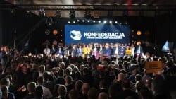 """Konwencja Konfederacji: """"Panie Gowin, Ukraińcy nie będą w Polsce elitą, elitą w Polsce będą Polacy!"""""""