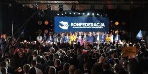 SONDAŻ: Pięć partii w Sejmie. Konfederacja kolejny raz nad progiem
