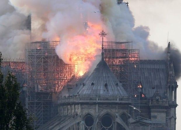 Pożar Notre Dame: pierwsze ustalenia prokuratury