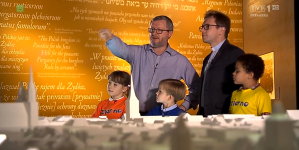 Pracownik muzeum Polin: Żydzi mieszkają w Polsce od 1000 lat