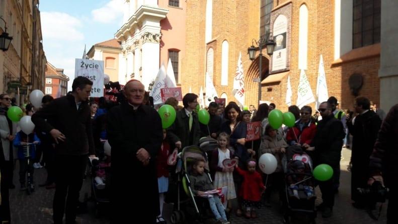 Marsz Świętości Życia przeszedł ulicami Warszawy po raz kolejny
