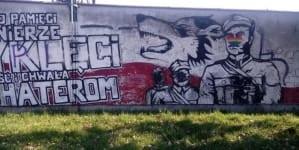"""Zdewastowano m.in. pomnik wyklętych w Koszalinie – obraz po paradzie """"równości"""""""
