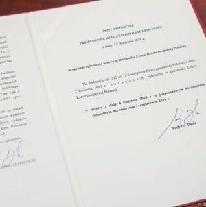 Ustawa o tzw. emeryturach plus została podpisana przez Prezydenta
