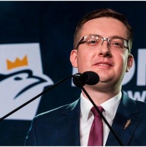 [PILNE] Robert Winnicki jedynką Konfederacji na Podlasiu