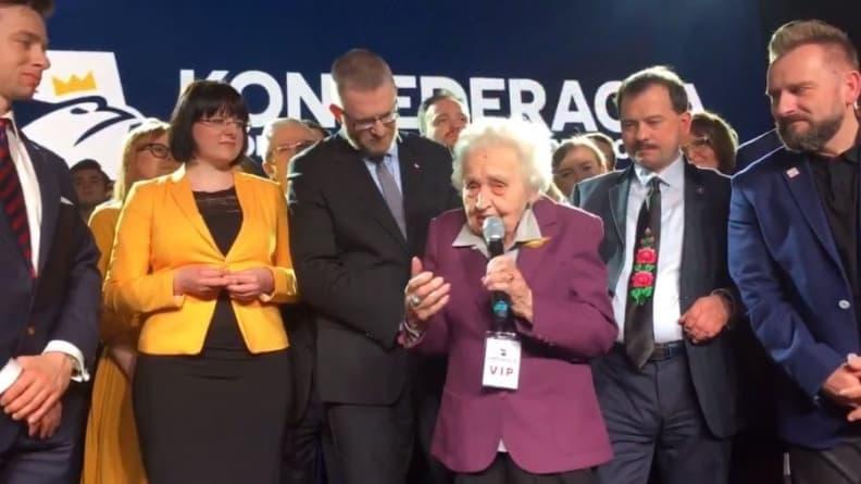 Najbardziej wzruszający moment na konwencji wyborczej Konfederacji [WIDEO]