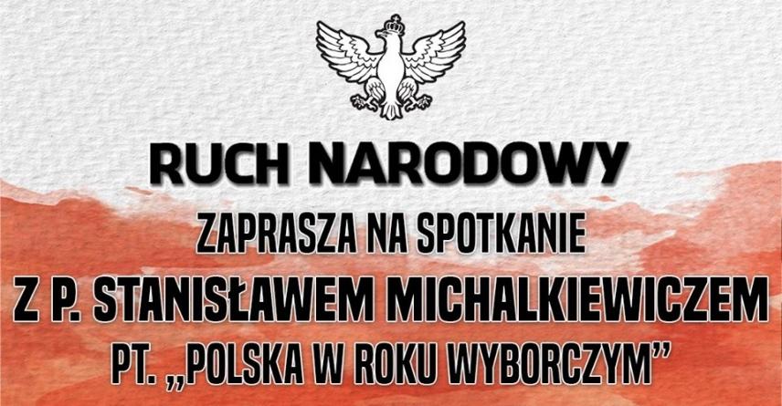 """Stanisław Michalkiewicz w Żorach: """"Polska w roku wyborczym"""""""