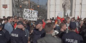 Zbłąkani działacze Antify nie wiedzą, co skandują