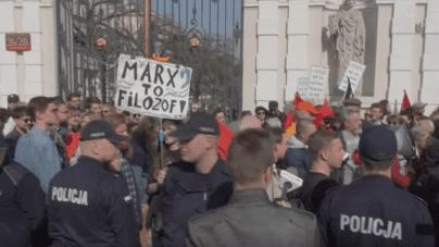 "Donos na narodowca za manifestację ""Uniwersytety wolne od marksizmu"""