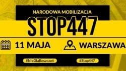 Marsz #STOP447 – zapowiedzi i transmisja na żywo! [NA ŻYWO]