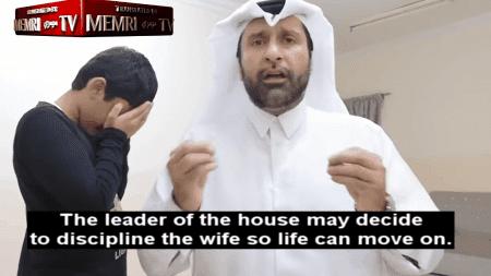 """Arabski socjolog pokazuje jak """"miłosiernie"""" bić żonę"""