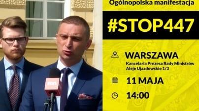 """Marsz #STOP447 11 maja! Znamy szczegóły. """"Zapraszamy wszystkich patriotów"""""""
