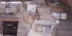 30 kartonów z ludzkimi szczątkami znaleziono na Podhalu