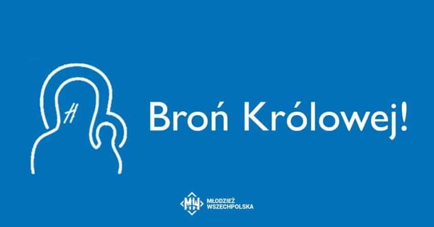 """Młodzież Wszechpolska zapowiada pozwy za """"tęczowe Matki Boskie"""": Zbrodniarzy trzeba ścigać"""