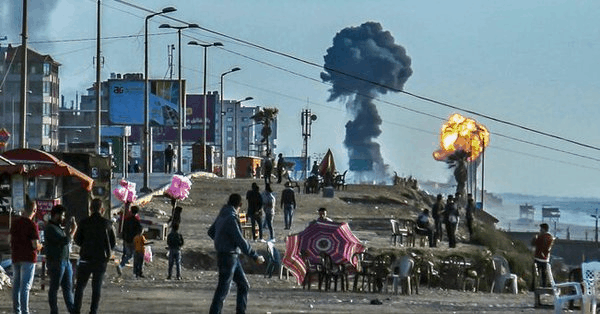 Strefa Gazy pod obstrzałem rakietowy. Kolejna wymiana ciosów na linii Palestyna-Izrael