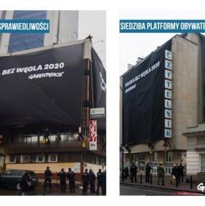 Policja zatrzymała aktywistów Greenpeace – Większość z nich to obcokrajowcy