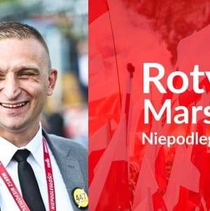Bąkiewicz: Roty Marszu Niepodległości stają się zagrożeniem dla establishmentu [WIDEO]