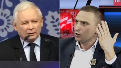 """Kaczyński zapowiada, że Polska nie zapłaci roszczeń. Bąkiewicz mówi """"sprawdzam"""""""