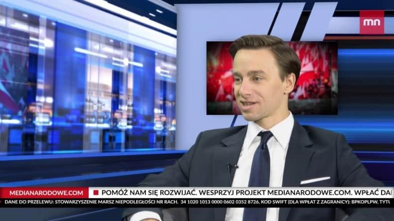 """Krzysztof Bosak: """"Pohańbiono wizerunek Matki Boskiej"""" [WIDEO]"""