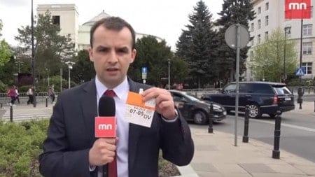 Cenzura wobec redaktorów Mediów Narodowych! Red. Murgrabia z zakazem wstępu do Sejmu [WIDEO]