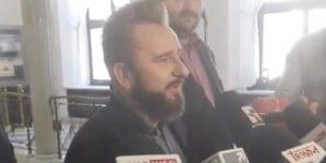 Kukiz nie przyszedł na konferencje z Jakubiakiem i Liroyem. Poszło o PSL