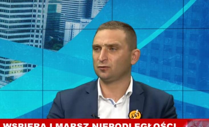 """""""Nie oddamy ani złotówki!"""" R. Bąkiewicz w Mediach Narodowych [WIDEO]"""