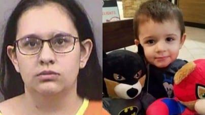 Zakatowała swoje 2-letnie dziecko, ponieważ nie chciał zjeść śniadania