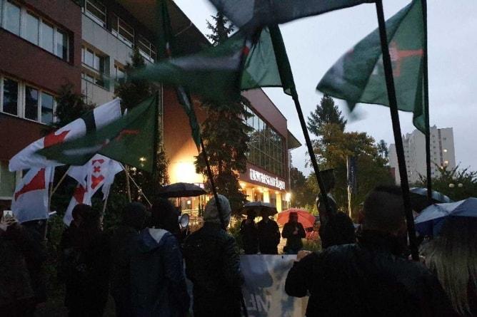 Śląscy studenci protestowali przeciwko marksizmowi na uczelniach
