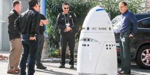 Policyjny robot bezużyteczny w obliczu niebezpieczeństwa