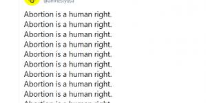 """Amnesty International szokuje! """"Aborcja jest prawem człowieka"""""""